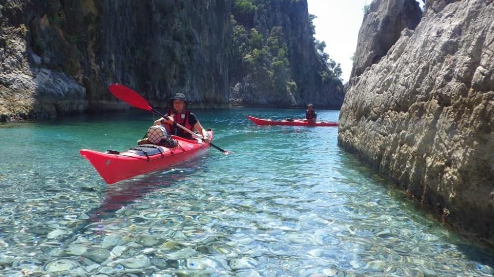 Likya Kıyıları Kano Turu