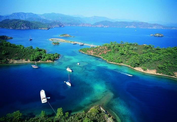 Fethiye 12 Adalar Göcek 3 Gece 4 Gündüz Mavi Turu
