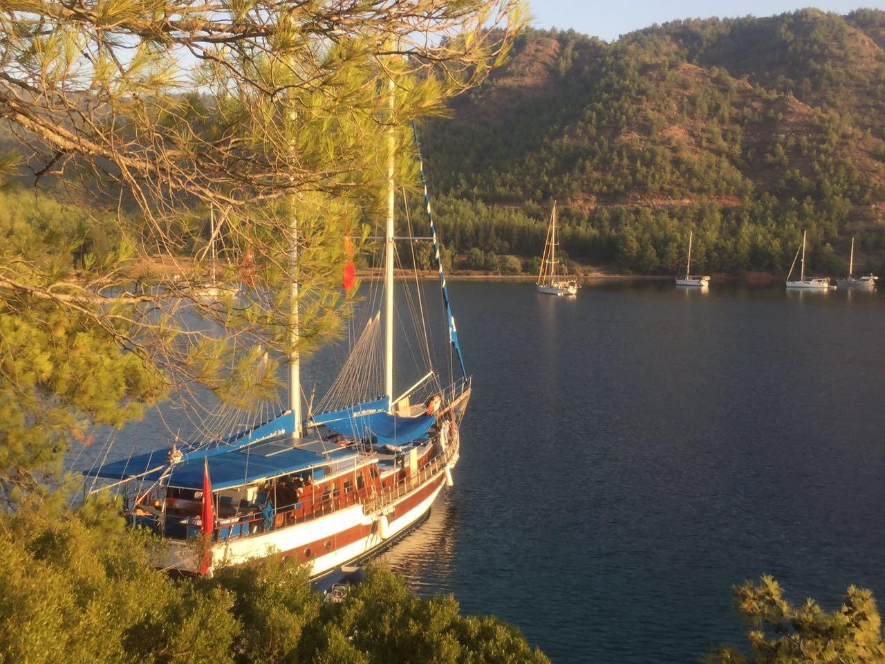 Kiralık Klimalı Ekonomik Gulet MySym (7 kabin 16 kişilik) ile haftalık Mavi Tur