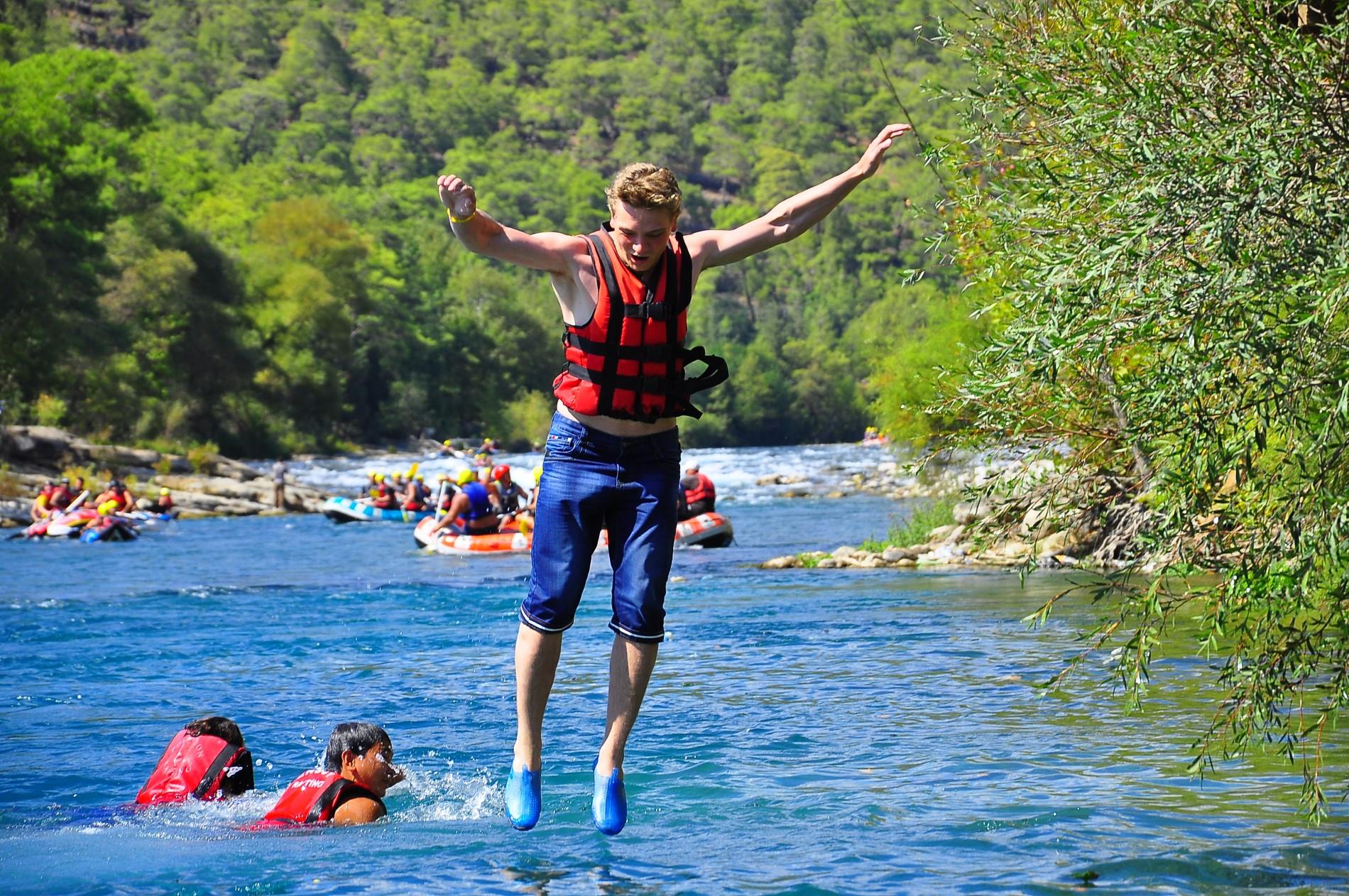 Alanya Köprülü Canyon Rafting
