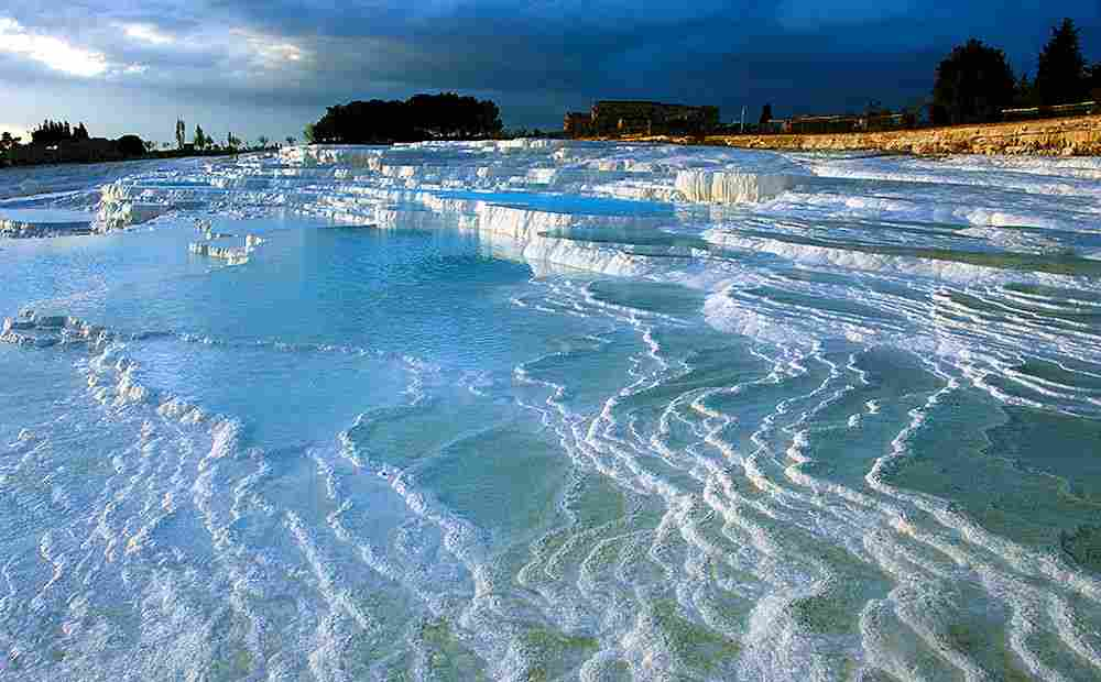 Pamukkale and the ancient city of Hierapolis