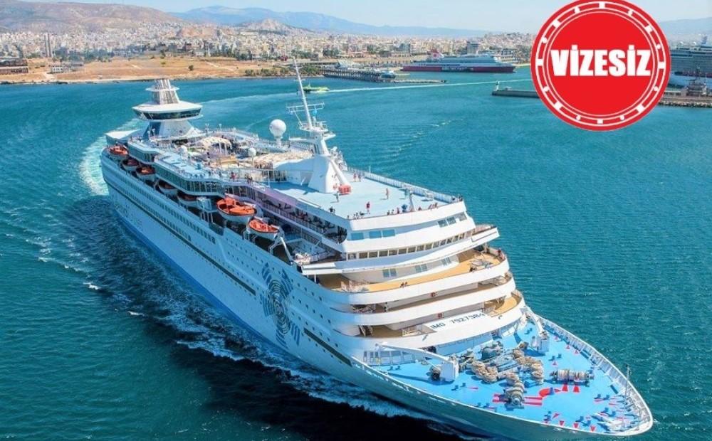 Vizesiz Yunan Adaları Gemi Turu 5 Gün