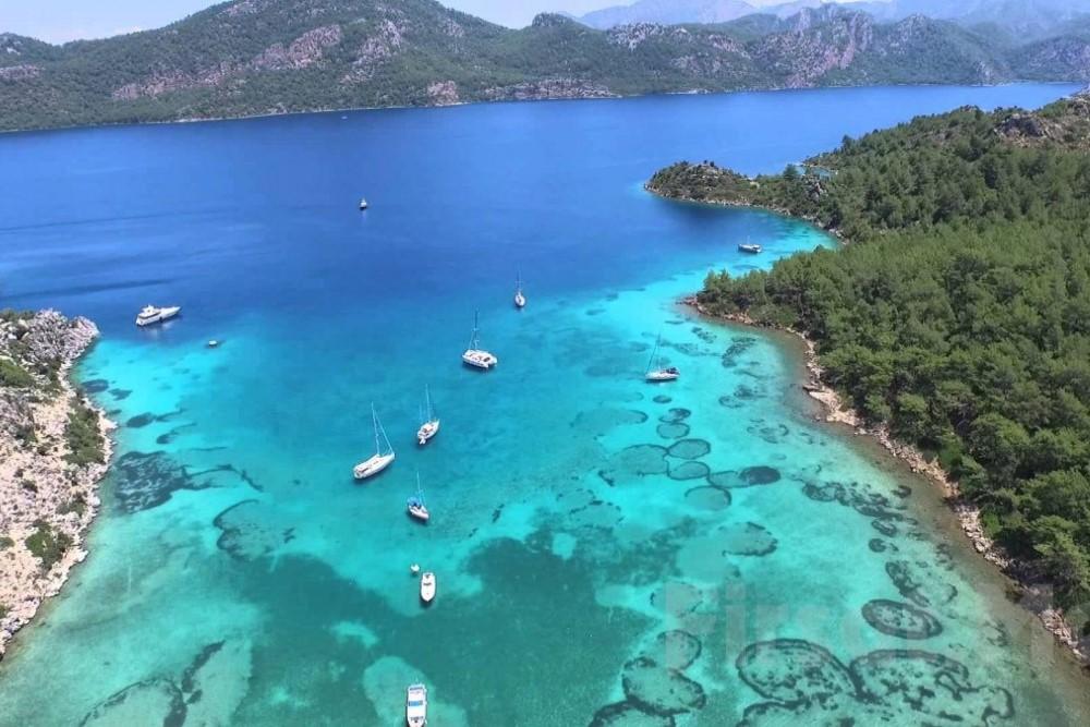 Anka Lüx Yelken Gulet İle Mavi Yolculuk Turu 8 Gün