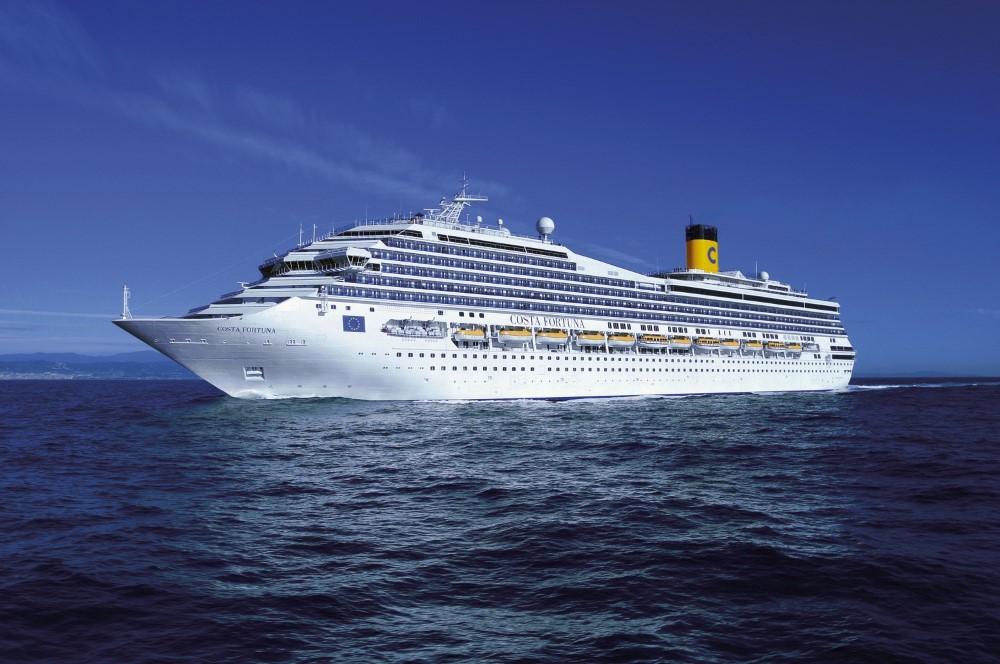Costa Fortuna ile Batı Akdeniz THY