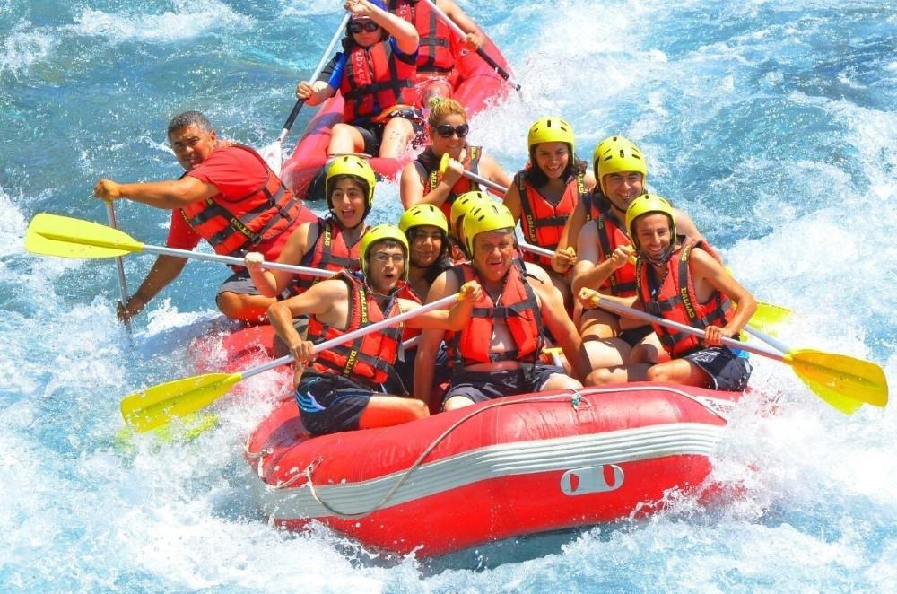 White Water Rafting at Koprulu Canyon