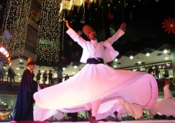 ( DERVISHES-)WHIRLING